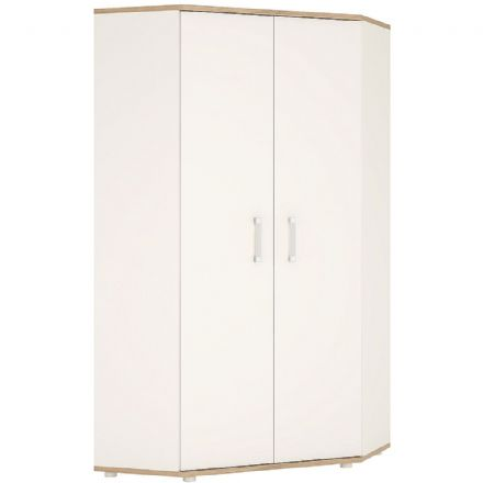 4KIDS Corner wardrobe with lemon handles